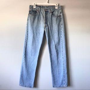 EUC Levi's 501 rare vintage button fly jeans 32